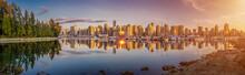 Beautiful Vancouver Skyline An...