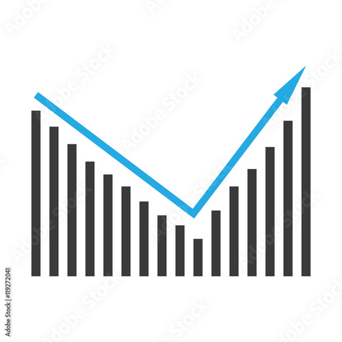 Pictorial Diagram Of Ascending Bar Graph Buy This Stock Vector And