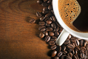 Panel Szklany Do kawiarni Coffee