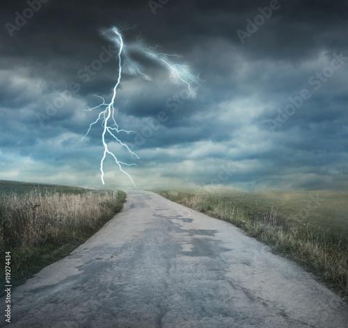 Zdjęcie XXL burzowa pogoda