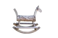 Retro Rocking Horse,isolated