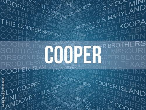 cooper Fototapeta