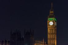 Big Ben At Night, London UK