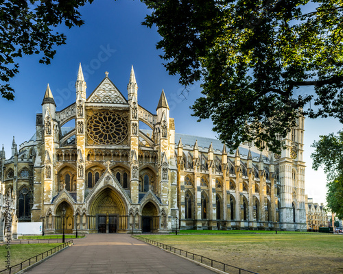 Westminster Abbey in London Canvas Print
