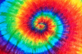 Fototapeta Rainbow - tie dye pattern abstract background.