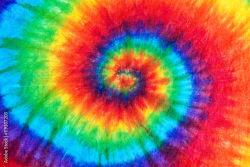 tie dye pattern abstract background. Canvas Print