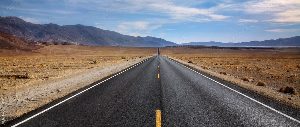Fototapeta Desert Highway