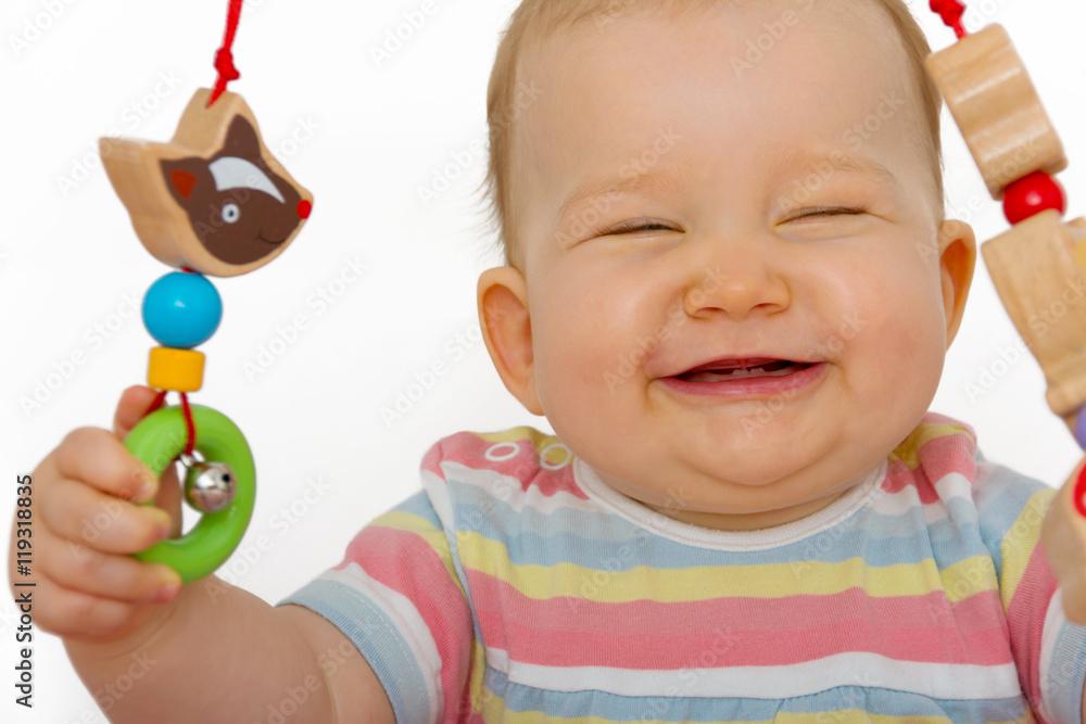 ab wann baby lachen