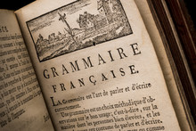 Preface Of An Old French Book About A Reform Of Grammar. General Principles Of The French Language. M. De Wailly 1724 - 1801