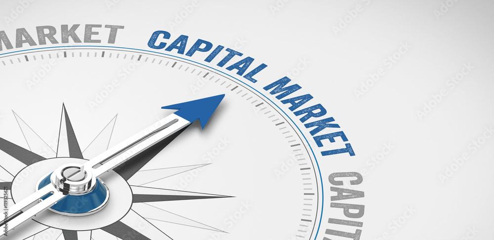 Fototapety, obrazy: Capital market