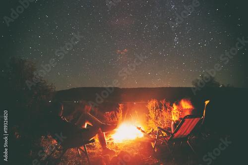 Montage in der Fensternische Camping Camping
