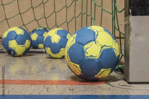 handball game Fototapeta