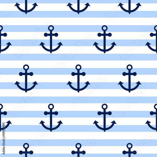 bezszwowe-wektor-wzor-z-kotwice-morskie-motyw-morski-kotwica-niebieski-poziomy-pasek-powtorzyc-tlo