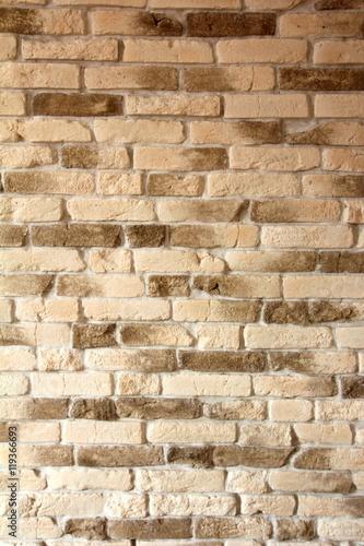 Foto op Aluminium Stenen Background of light brick wall