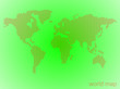 canvas print picture - Abstract world map