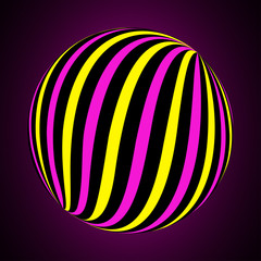 Plakat Abstract ball