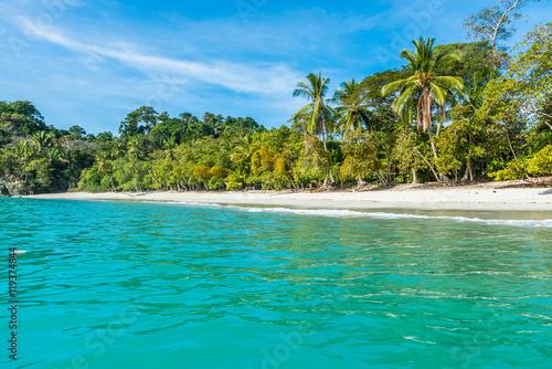 Manuel Antonio, Costa Rica - beautiful tropical beach Canvas Print