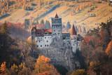 Europa, Transylwania, Rumunia, XIII-wieczny zamek Bran, związany z późniejszym pobytem Włada II Impalera, AKA Dracula.Queen Marie z Rumunii. - 119377856