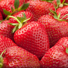 Obraz na Szkle Strawberry fruit background