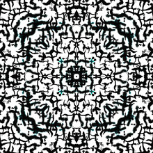 Ethnic Seamless Kaleidoscope P...