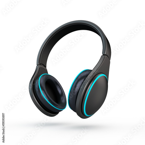 Photo  Modern headphones