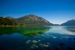 canvas print picture - Walchensee