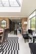 Glass ceiling home