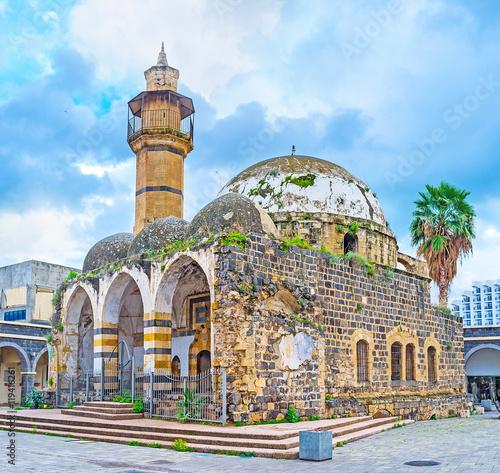 Canvas-taulu The abandoned Great Al-Omari Mosque in Tiberias