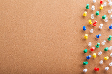Group Of Thumbtacks Pinned On ...