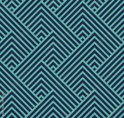 fototapeta na szkło seamless geometric pattern with straight lines