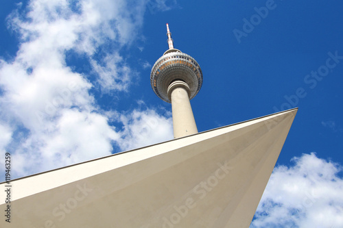 Photo  Berlin / Alexanderplatz (Fernsehturm)