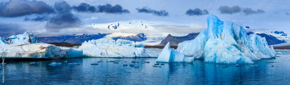 Fototapety, obrazy: Glacial Lagoon, Iceland