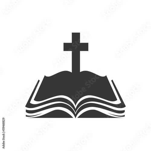 holy bible book cross