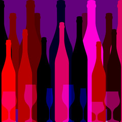 Fototapeta Wino Design for Party