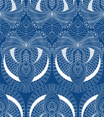 Plakat Abstract seamless pattern of lace