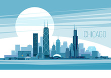 Chicago Vector Illustration
