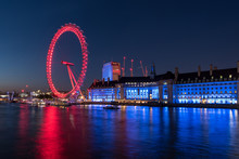 Evening At The London Eye And ...