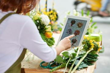 Cvjećarnica pomoću sučelja internetske cvjećarnice
