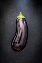 Eggplant On Slate