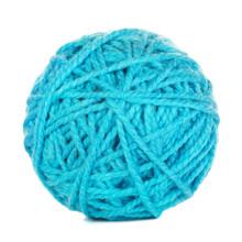 Cyan Yarn Ball