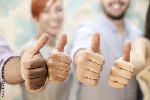 Stampe  Thumbs up