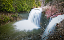 Bridal Falls At Manitoulin Isl...