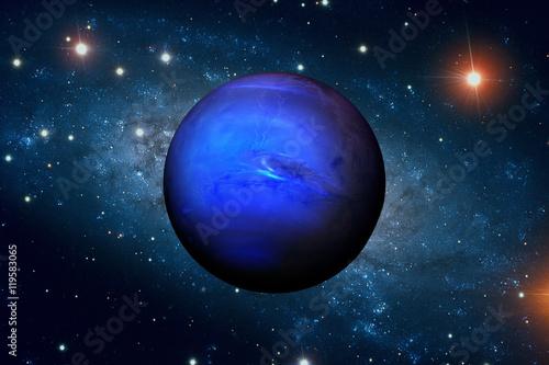 Fotografie, Obraz  Solar System - Neptune
