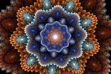 Obraz fractal picturesque carpet
