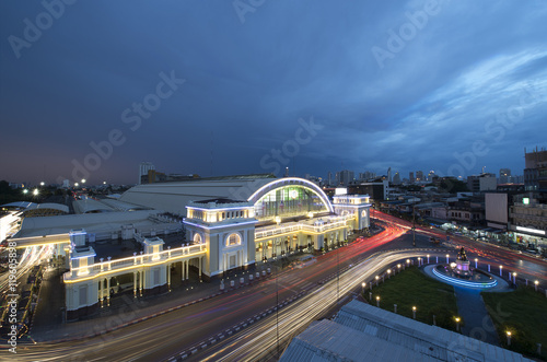 Spoed Foto op Canvas Canada Bangkok railway station : Central railway station of Thailand.