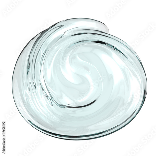 Fotografie, Obraz  cosmetic gel isolated on white