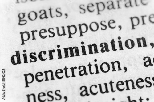 Fotografia, Obraz  Discrimination