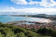 Scarborough Harbour And Beach,...