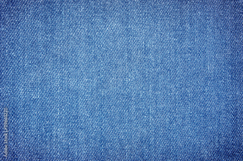 Deurstickers Stof Texture of denim or blue jeans background