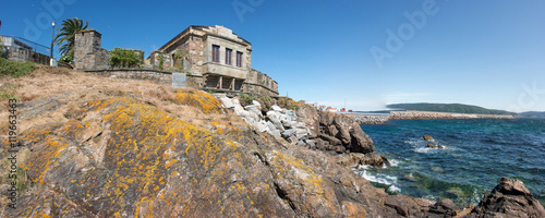Photo sur Toile Fortification Castillo De San Carlos Fisterra (Finisterre) Provinz A Coruña Galicien Spanien